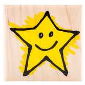 Star 02 Rubber Stamp